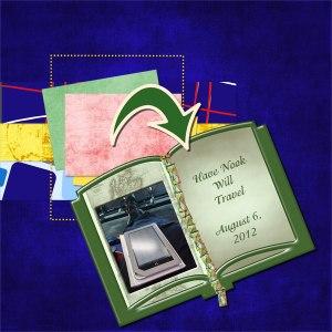 Have Nook will Travel - Karen - 2012