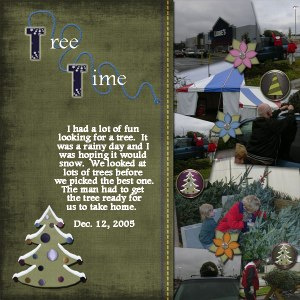 Tree Time - Joshua - 2005