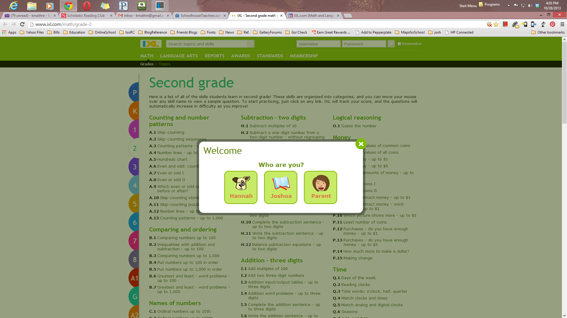 IXL.com - Online Math Membership - Review - My Harbor Lights